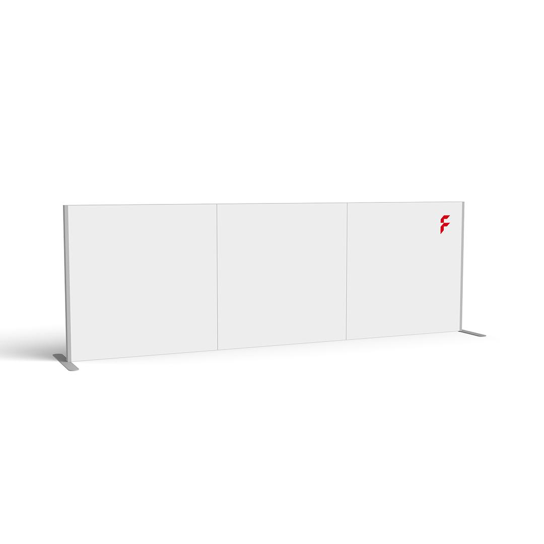 FRAME Schutzwand - Mobilität und Schutz | FLYERALARM Exposystems